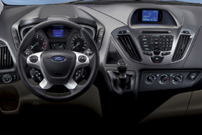 Ford Transit Custom / Tourneo Custom - interiér