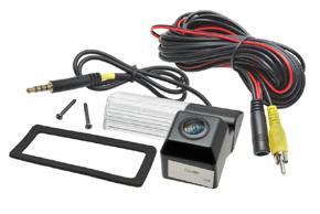CCD parkovací kamera Nissan Tiida - obsah balení