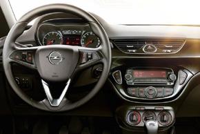 Opel Corsa 2015 - interiér