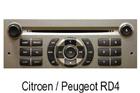 Peugeot autorádio RD4