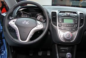 Hyundai ix20 man.klima - interiér