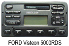 Ford autorádio Visteon 5000RDS