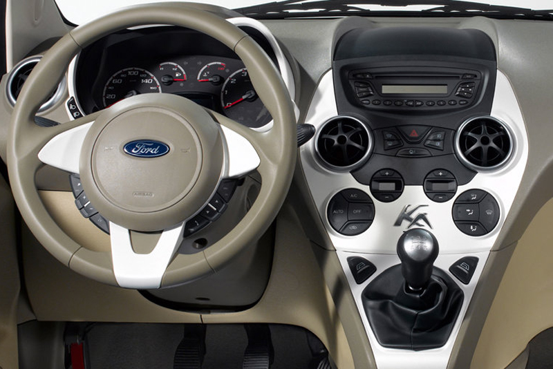 Rámeček autorádia Ford Ka II. (08->)