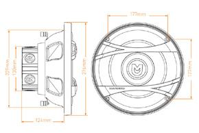 MACROM M2SW.1044 - rozměry