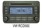 VW autorádio RCD300