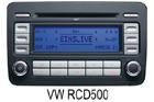 VW autorádio RCD500
