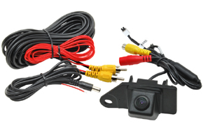 CCD parkovací kamera Mitsubishi ASX - obsah balení