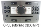 Autorádio Opel CD30