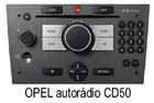 Opel autorádio CD50