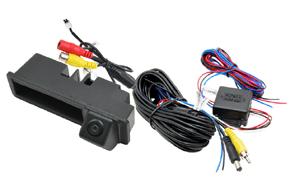 CCD parkovací kamera do madla Audi - obsah balení