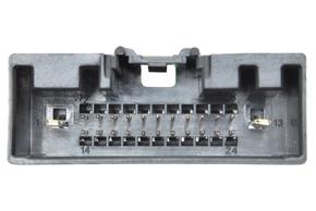 Adaptér pro ovládání na volantu Ford Transit (13->) - detail konektoru