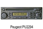 Peugeot / Citroen OEM autorádio PU2294