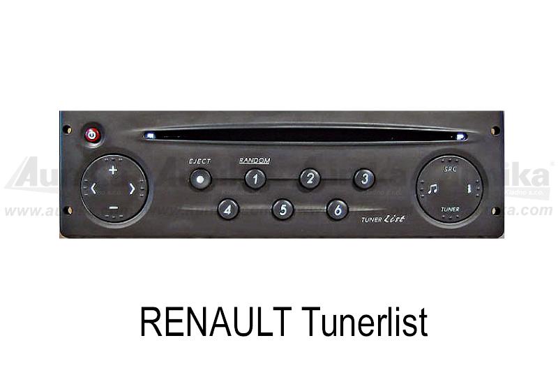 AUX vstup pro autorádia Renault