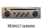 OEM autorádio Renault Updatelist 2