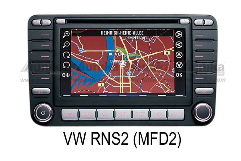 AUX vstup + výstup VW - MFD2