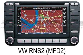 VW navigace MFD2 (RNS)
