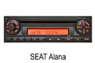 Seat autorádio Alna
