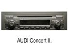 Audi autorádio Concert