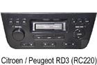 Autorádio Peugeot RD3 (RC220)