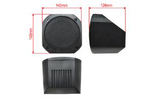 FGML-10 box pro reproduktor 130mm - rozměry