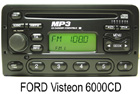 OEM autorádio Ford 6000 MP3