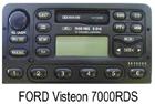 OEM autorádio Ford 7000 RDS