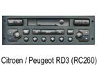 Peugeot / Citroen autorádio RD-3 RC260