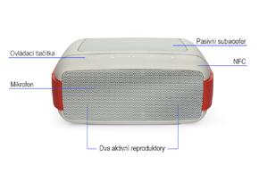 EASY.W vodotěsný bezdrátový reproduktor