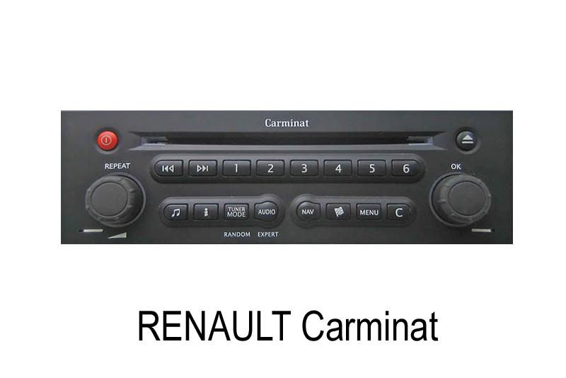 AUX audio vstup Renault (07->)