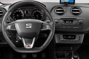 2DIN adaptér rádia SEAT Ibiza (14->) - interiér