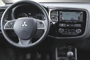 Mitsubishi Outlander III. - interiér