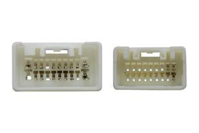 Adaptér pro ovládání na volantu Mitsubishi  - detail konektoru