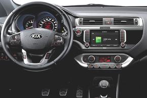 Kia Rio III. (Facelift 3/15->) - interiér