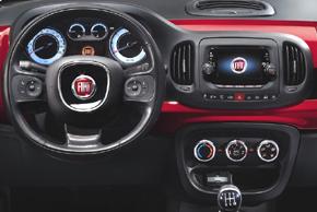 FIAT 500L [199] (10/2012->) - interiér