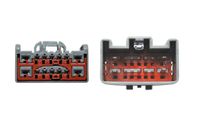 Adaptér pro HF sadu Land Rover - detail konektoru