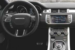 Land Rover Evoque - interiér