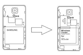 Inbay® dobíjecí modul Samsung S4