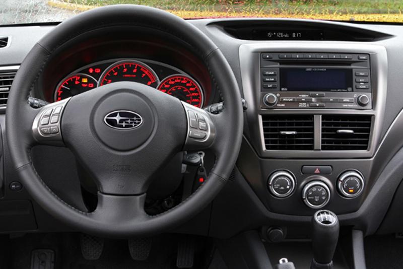 Rámeček autorádia Subaru