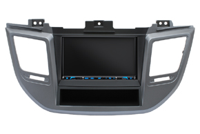 Rámeček autorádia 2DIN Hyundai Tucson II. s vestavěnou navigací