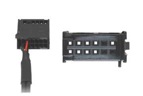 AUX vstup pro autorádia Ford  - konektor do autorádia