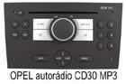 Opel autorádio CD30 MP3