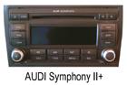 Audi autorádio Symphony II+