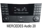 Mercedes autorádio Audio 20