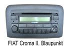 Fiat Croma - autorádio Blaupunkt