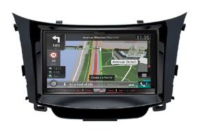 Adaptér 2DIN rádia Hyundai i30 II. (12->) s vestavěnou navigací Pioneer