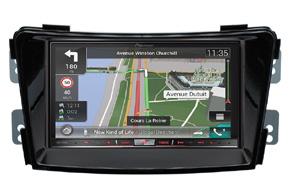 Rámeček 2DIN autorádia Hyundai i40 s vestavěnou navigací Pioneer