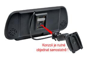 BK-073MA monitor v univerzálním zrcátku