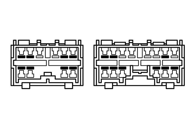 ISO adaptér pro autorádia Volvo