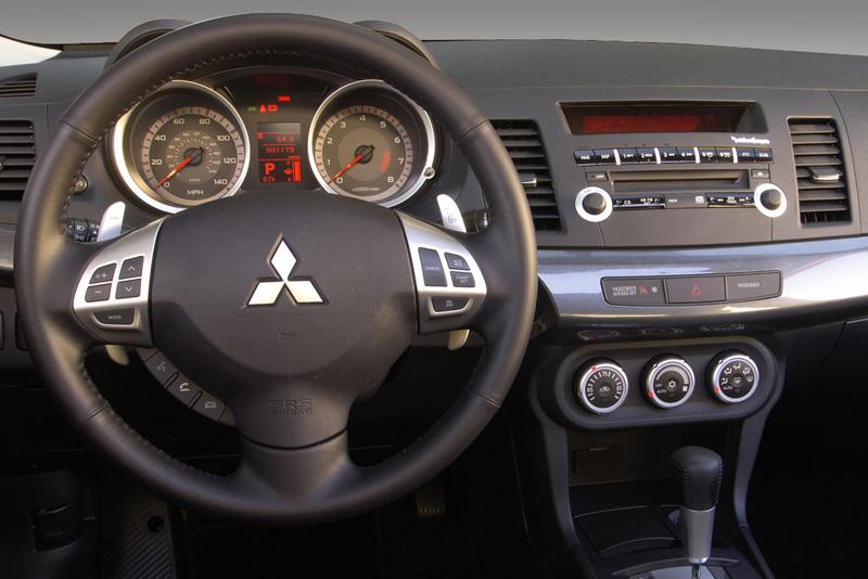 Rámeček autorádia Mitsubishi Lancer (07->)