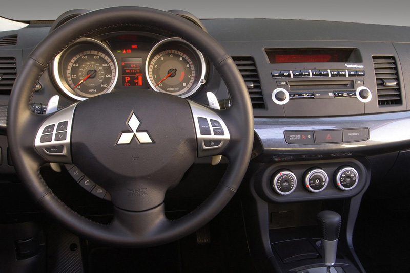 Rámeček autorádia Mitsubishi Lancer (07-13)